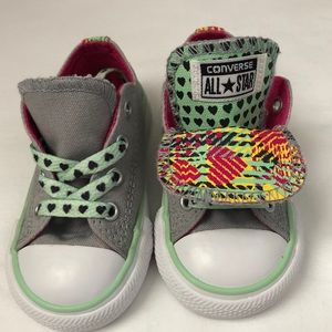 CONVERSE DOUBLE TONGUE- Girls All Star Sneakers